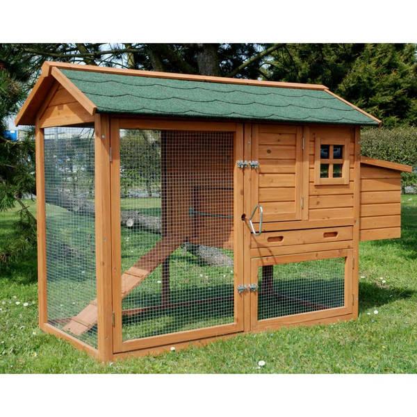 Poulailler avec enclos
