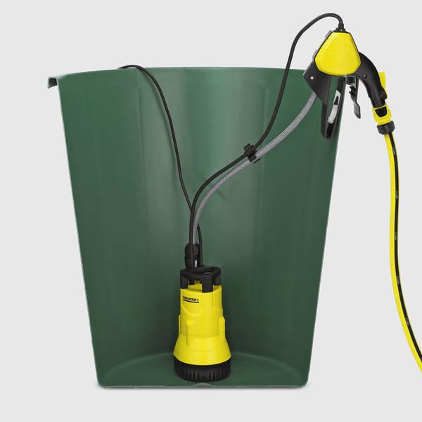 Recuperation eau de pluie gouttiere