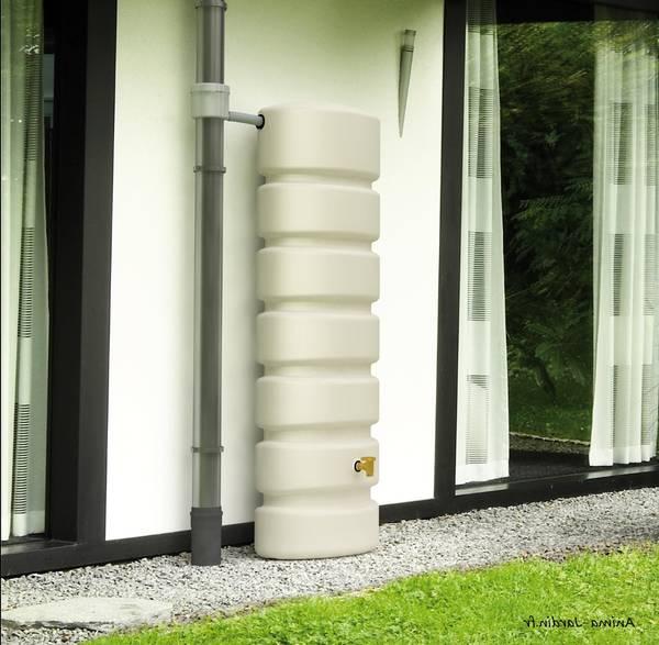 recuperateur eau de pluie design